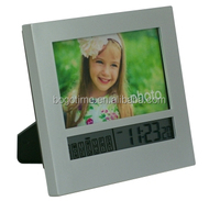Promotionnal photo frame wall clock and aluminium wall clock