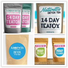 AM TEATOX slimming detox tea / Diet /Green/14 Day Detox tea With Private label