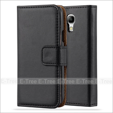 Wholesale PU Leather Wallet Phone Case With Card Slots For Galaxy S4 Mini, Flip Cover For Samsung Galaxy S4 Mini