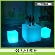 New Model Apple Shaped Led Furniture / Illumilated Led Coffee Table