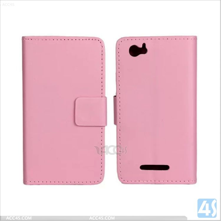 Stand leather case flip cover for sony xperia m P-SONC1904SPCA002