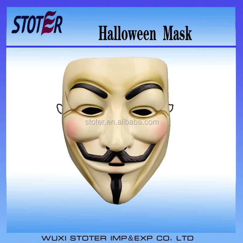 customized wholesale Halloween Mask new design mask V for vendetta mask