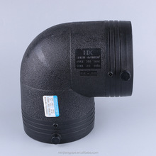 Plastic pipe fitting elbow connectors 90 degree elbow PE 100