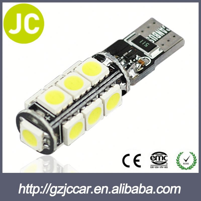 Chinese imports wholesale one year warranty 12 volt auto t10 5050 smd light bulb for bmw gt1