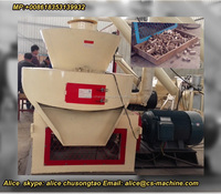 1019 Full automatic pressing machine to make sawdust wood briquettes