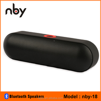portable pill subwoofer speakers bluetooth wireless for home theater / outdoor sport