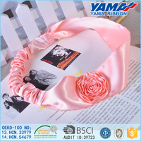 Good quality fancy flower elastic baby hair headband for women