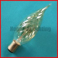 40w decorative candle tailed whorl bulb