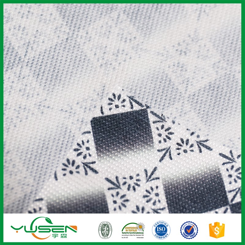 digital print 100 polyester spunbond fabric nonwoven textiles fabric shopping bag fabric