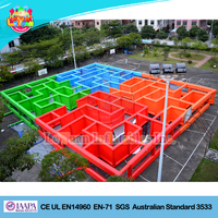 Giant Inflatable Laser Tag Arena / Large Inflatable Maze for sale