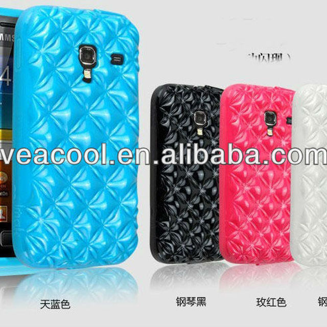 Soft Back Phone Case Cover for Samsung Galaxy Ace Plus S7500