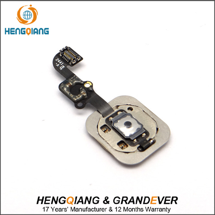 AAA+ Home Button Flex Cable Assembly For iPhone 6, For iPhone 6 Home Button Flex Cable