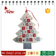 XM12-14B Luxury christmas tree advent calendar indoor decorations