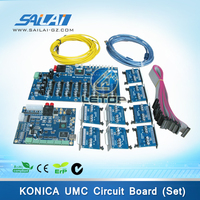 one set large format printer umc board with konica 8pcs printhead v1.2d