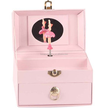 Luxury Creative paper Music Box With Ballerina /Jewelry Box