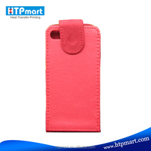 Hot selling PU Leather+Polyester Phone Case for iphone 4/4S