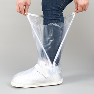 China supplier pvc jelly transparent waterproof rain shoes covers