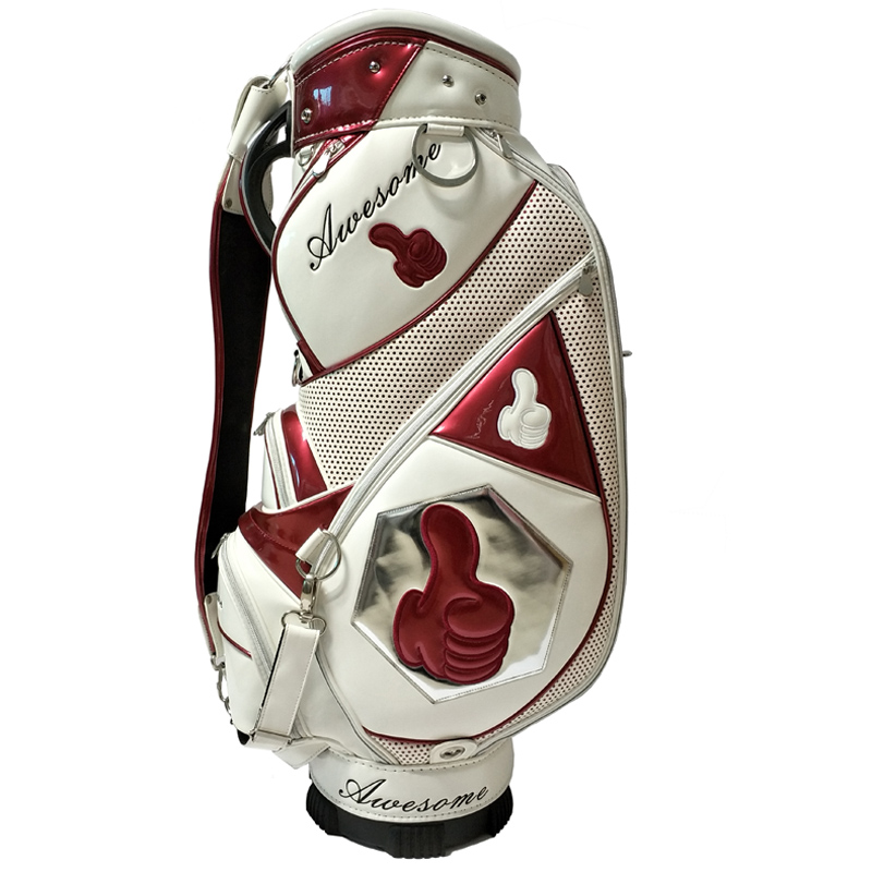 Popular Dongguan Factory Customize PU Leather Golf Bag