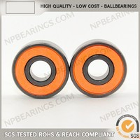 Free sample longest spin Ceramic bearing 608z for trolley wheel with ABEC-5, P5