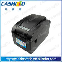 3inch label barcode printing machine/thermal label printing machine