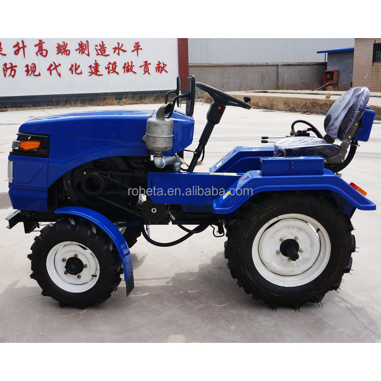 18hp china supplier four wheel mini tractor agricultural machinery