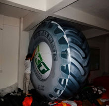 Inflatable TIRE Balloons / FLYING car tire Balloon FOR BIG SALE
