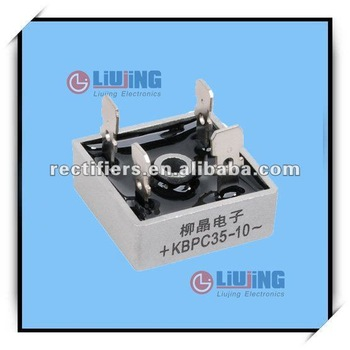 small general outline 35A, 1000V, DIP-4, KBPC3510 Bridge Rectifier