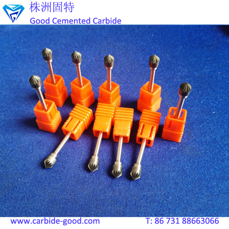 2018 High Quality Tungsten Carbide Rotary Burrs File with Different Shape and Use