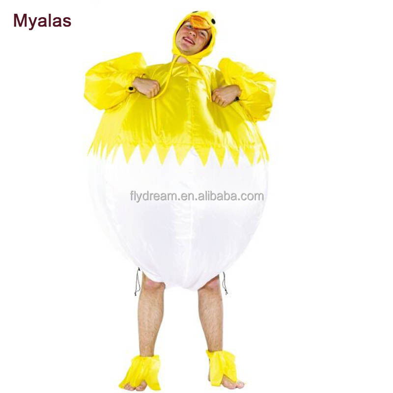 Inflatable adult chicken costume Cock Rooster Turkey animal costume for adults Carnival Costume