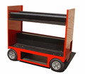 Kindleplate Mobile Rooling Tool Storage Cart Cabinet by manufacture with 33 years in metal fabrication