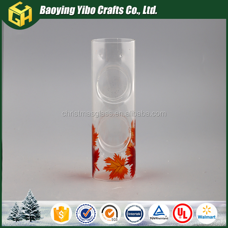 Professional design wholesale glass candle holder