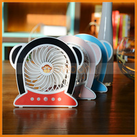 Personal Hand-held Portable Battery Operated Mini Air Fan for Home and Travel