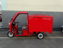 Hot sale van truck tricycle and tricycle food cart three wheel electric tricycle