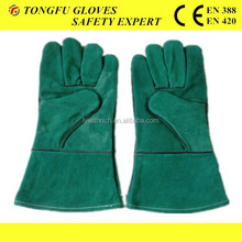 Popular Design Welding Leather Gloves, leather welding gloves, glove with long sleeve