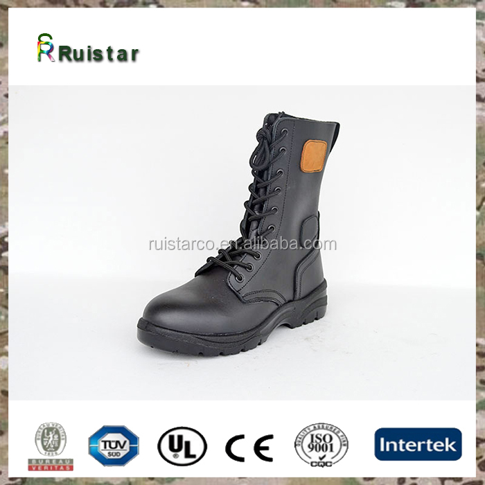 camo high quality army hiking safety shoes