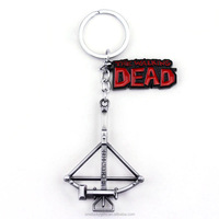Custom crossbow jewelry metal bow and arrow keychain personalized gifts