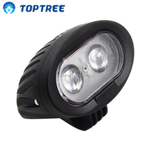 9-80V Forklift Safety Lights 10W Blue or Red LED Warning Spotlight