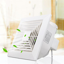 White Ventilation Extractor Exhaust Fan Blower Window Wall Kitchen Bathroom Toilet