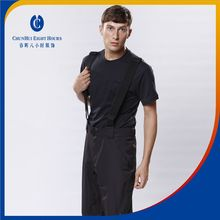 Nylon windbreaker pants warm winter maintainer trousers with adjustable strape for man