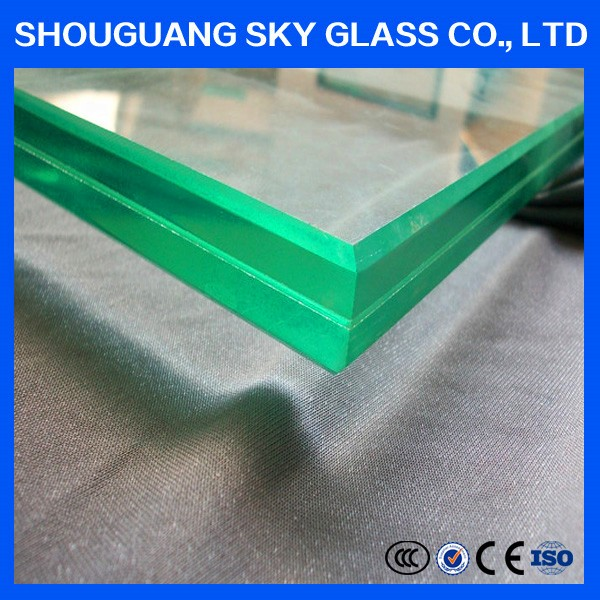 China Manufacture Bullet Proof Laminated tempered Glass 15-26mm Manufacturer With Insurance Certificate And Report