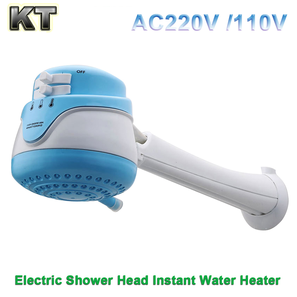 220V 110V 127V Mini Bathroom Hot Water Shower Tankless Instant Electric Water Heater