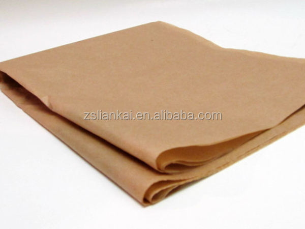 Cheap offset printing kraft wrapping tissue paper
