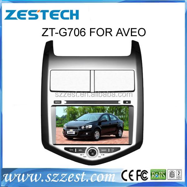 ZESTECH 7'' car headunit autodvd stereo gps touch screen car dvd player for chevrolet Aveo