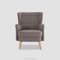 High Quality Classic Fabric Comfortable Armchair For Elegant Living