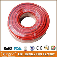 Hot Export Nigeria Market Low Pressure Red Gas PVC Plastic Hose Pipe, PVC Gas Hose For Gas, 8x15mm Fibre Reinforced PVC Gas Hose