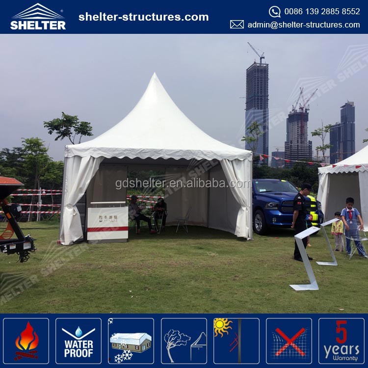 Customized size lastest design pagoda 4x4 canopy tent