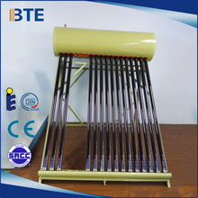 Chinese manufacturer export high quality solar water heater price in india