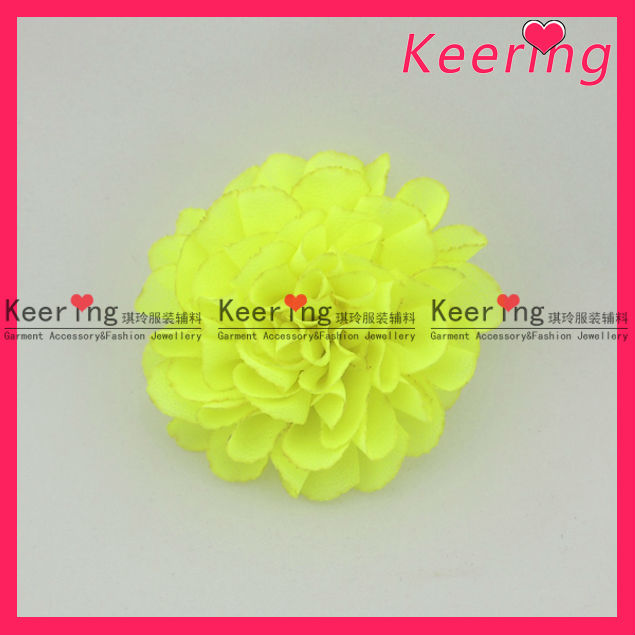 Wholesale fabric artificial flower for shoe hat WSF-230