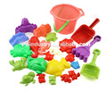 Colorful bulk plastic happy outdoor plastic sand kids beach toys