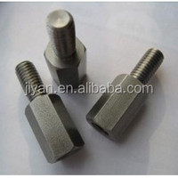 Hardened steel/brass/zinc/nickel/chrome plated inside and outside thread nut